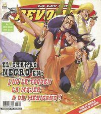 LA LEY DEL REVOLVER MEXICAN COMIC #720 MEXICO SPANISH HISTORIETA 2012 WESTER