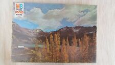 MB Milton Bradley Puzzle 1000 pc Springfield Series, Mountain Majesty  New