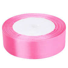 Buy 3 Get 1 Free,50 100 Yard Satin Ribbon Roll All Size All Colors Gift Wrapping