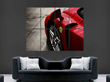 FERRARI ENZO CAR POSTER SPEED RACING F1 PRINT ART WALL PICTURE GIANT HUGE