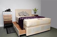 5ft King Size Bed+Ortho Firm 25cm Mattress+4 Drawers+Headboard BEST SELLER!