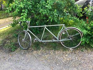 Vintage Tandem Bicycle - Claud Butler - Reynolds 531 lightweight racing tandem