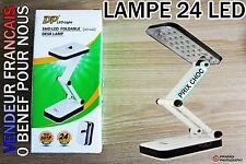 Lampe de travail 24 LED pr ongleS manucure PLIABLE  RECHARGEABLE LEDS BLANC PUR