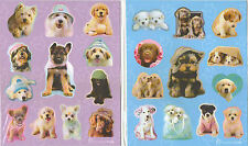 RACHAEL HALE DOG PUPPY PUPPIES STICKERS 12 SHEETS