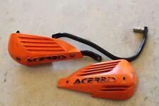 Acerbis Orange Handguards Shields Protectors Enduro Dirtbike Offroad