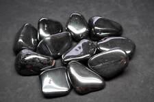 Hematite 8 Oz Tumbled Black Silver Natural Metallic Mineral Large