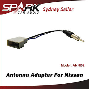 CT Antenna Adapter Adaptor Car Radio Lead Plug For Nissan Micra 2011-2016