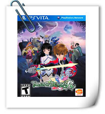 PSV TALES OF HEARTS R SONY PlayStation VITA Bandai Namco Games RPG