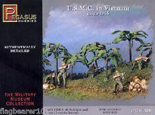 Pegasus 7401: USMC Vietnam 1965. échelle 1/72 Marines américains.