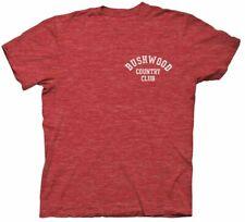 Caddyshack Bushwood Country Club adulto Heather Rojo Camiseta