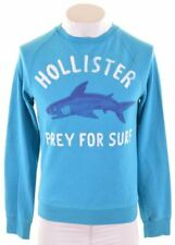 HOLLISTER Mens Sweatshirt Jumper Medium Blue Cotton  KB23