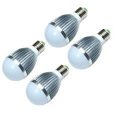 4 PCS 5W E27 LED Bulb Energy Saving Globe Light Lamp Bulb - Cool White
