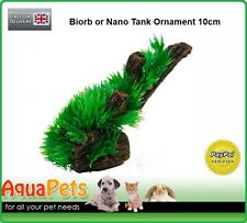 YM424 BIORB NANO TANK SMALL MOSS PLANT TREE STUMP ORNAMENT DECORATION 10CM