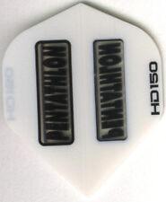 White PENTATHLON HD150 Dart Flights: 3 per set