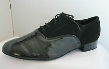 Mens Black Ballroom, Jive, Latin, Tango, Salsa Dance Shoes - Sizes 7 - 12