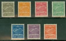 Brazil #1Cl1-7 Complete Condor set, og, Nh except 1Cl4 Lh, Vf, Scott $105.75