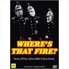 "WILL HAY DIGITALLY RESTORED DVD ""WHERE'S THAT FIRE / GO TO BLAZES"""