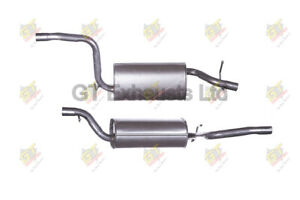 Ford Focus MK II [2004-2012] Hatchback 1.6 Box with centre pipe FE911 1306076