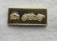 Gold Over Silver Bar / Ingot 1927 Amilcar CGSs Worlds Great Performance Car
