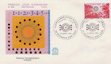 FRANCE FDC - 898 1803 2 SURREGENERATEUR PHENIX 21 9 1974 - LUXE