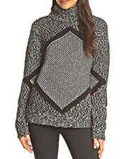 Shae Black A D Gray Pullover Sweater Size Medium New With Tags NWT