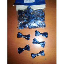 déco fêtes mariage baptêmes anniversaire nœud papillon bleu marine neuf x 24