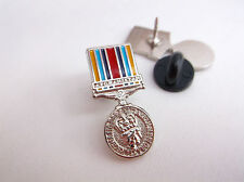 OPERATIONAL SERVICE MEDAL AFGHANISTAN HM H M ARMED FORCES ARMY LAPEL PIN BADGE