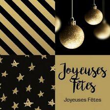 """40 étiquettes """"joyeuses Fêtes """". Décoration de Noël."""