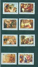 Antigua 1991 Reubens Paintiings Art Bacchanal Sabine Women  MNH SG 1466-1473