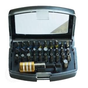32-tlg. CR-V Bit Set Bit Satz Bitbox für Bosch Hitachi Makita