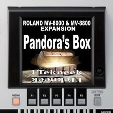 Roland MV-8800 MV-8000 Expansion Pack (1Tekneek- Pandora's Box)