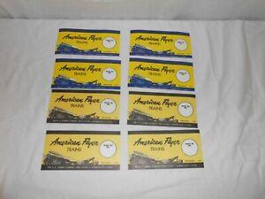 American Flyer Set Box Labels BLUE & BLACK / YELLOW M3119