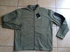 Nike Golf Tiger Woods Platinum Therma-Fit Wind Resistant Jacket-Green-Large-Nwt