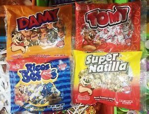Dulces Montes 4 Pack - Damy + Tomy + Ricos Besos + Super Natilla 6oz EA