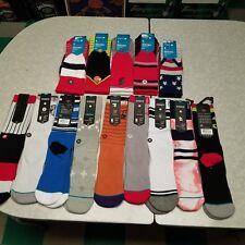 14 Pair Lot Stance Mens Socks Large  NEW