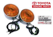 Clignotant d'aile Rond, FJ40, BJ40, la paire Toyota Land Cruiser