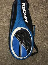 Babolat Teenis Racket/travel Bag Blue And Black