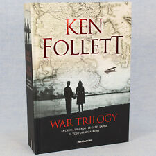 Ken Follett WAR TRILOGY ed. Oscar Draghi Mondadori 2017 cop. rigida