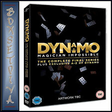 DYNAMO - MAGICIAN IMPOSSIBLE SERIES 4- FINAL SERIES **BRAND NEW DVD **