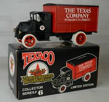 Ertl 1989 #9040VO 1925 Mack Bull Dog Texaco Box Truck Bank Made USA Mint/Box