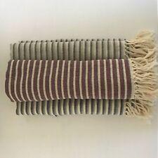 PESHTEMAL- TURKISH HAND MADE TOWEL, 100% COTTON, PREMIUM QUALITY, NEW, LARGE