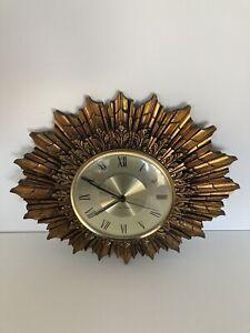 Seth Thomas Vintage Star burst / Sun burst Clock