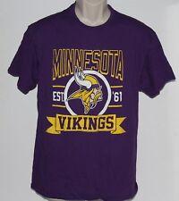 New ListingNFL Minnesota Vikings Junk Food Men s Large Purple T Shirt 818271403