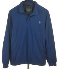 FOOTJOY DRYJOY Mens Blue Waterproof Pullover Golf Jacket Large L Made in USA