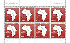 More details for mali philately stamps 2020 mnh african philatelic hub maps geography 8v m/s
