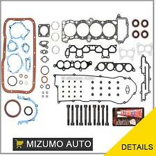 Fit 95-99 Nissan 200SX Sentra 1.6L DOHC GA16DE Full Gasket Set + Head Bolts