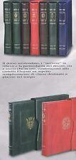 Cartella CON CUSTODIA elegant ITALIA REPUBBLICA - 22 ANELLI colore VERDE