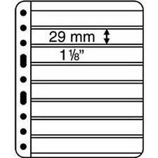 LEUCHTTURM Vario Hüllen 8 S - Pack=5 Hüllen