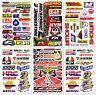 Motocross Motogp Dirtbike Dirt Bike ATV Racing D6727 Pack 6 Decals Stickers set