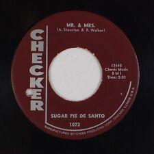 SUGAR PIE DeSANTO: Slip-In Mules (No High Heel Sneakers) CHECKER R&B Soul 45